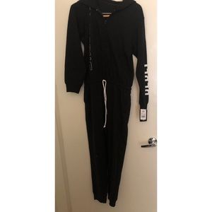 Star Wars Black Hooded Sleep Onsie New with Tags!